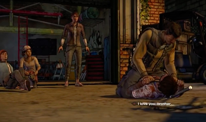 Telltale's The Walking Dead, I Love You Brother