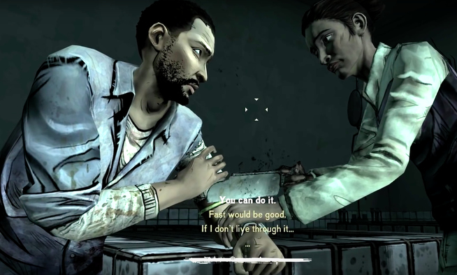 Telltale's The Walking Dead, Unforgettable Moments, Lee Loses His Arm