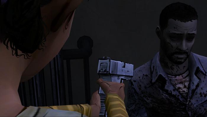 Telltale's The Walking Dead, Unforgettable Moments, Lee's Death