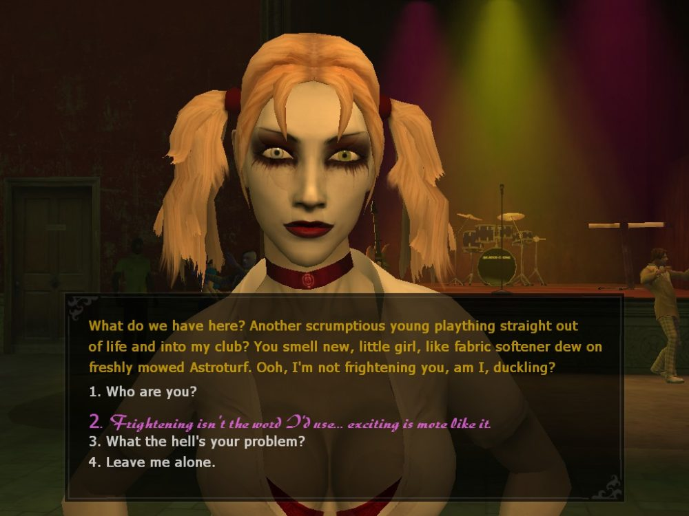 Vampire the Masquerade Bloodlines Jeanette
