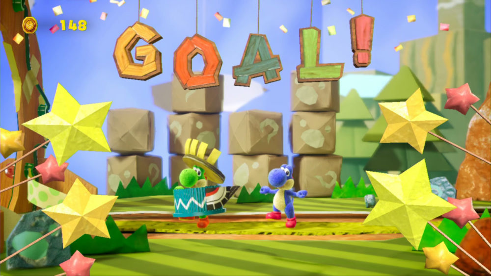 switch vr games, yoshis crafted world