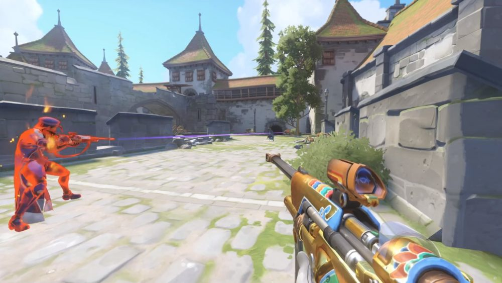 Ana paintball Overwatch Workshop game mode