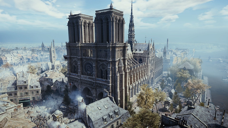 assassin's creed unity, notre-dame, notre dame