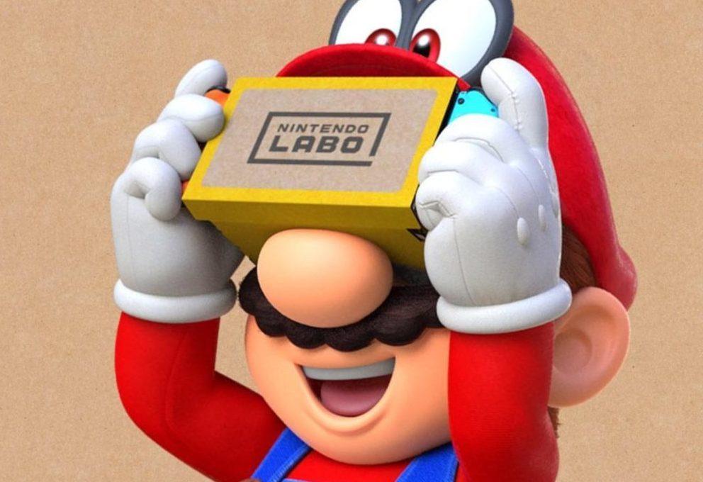 vr, labo, switch games