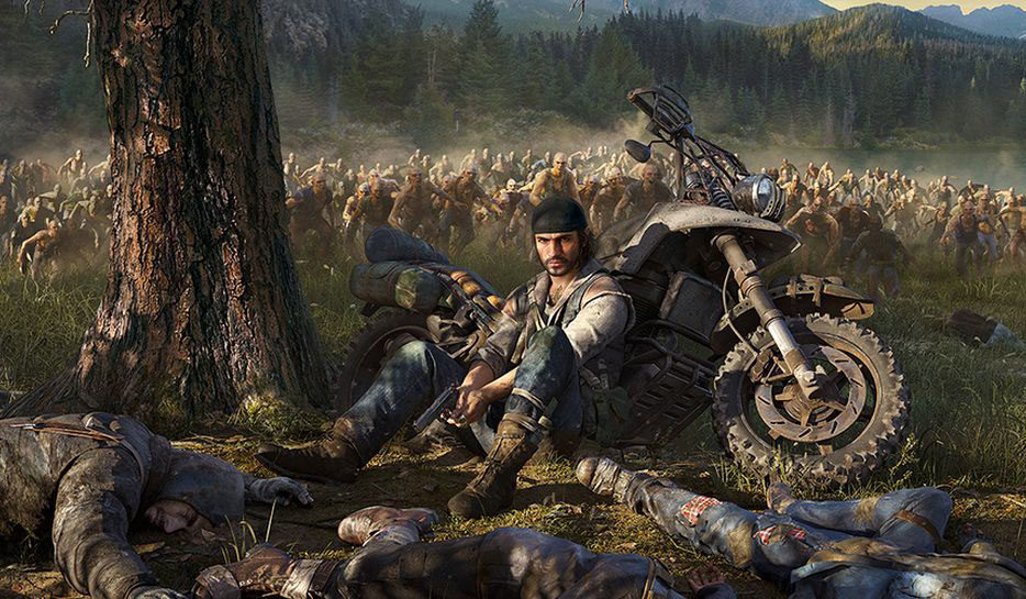 days gone, open world
