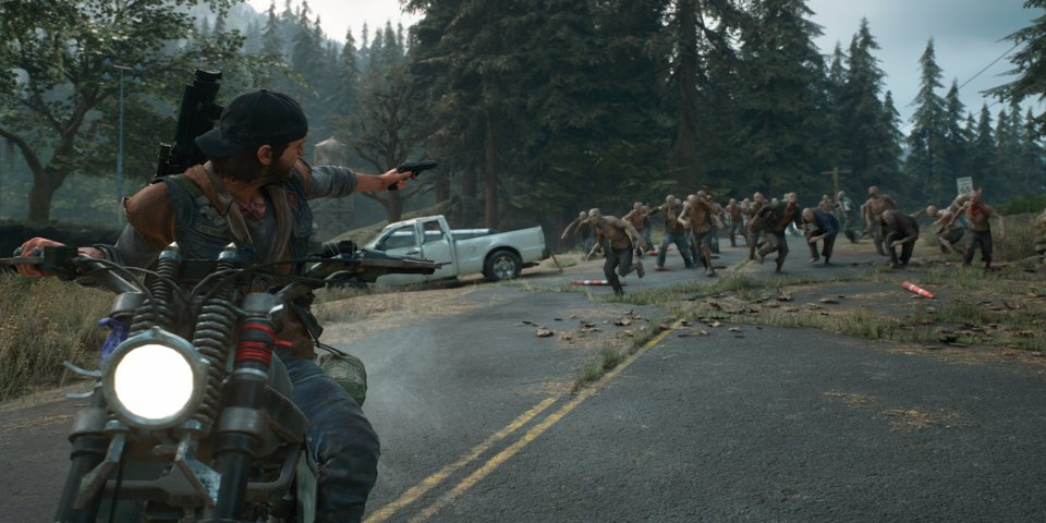 Days Gone, open the map