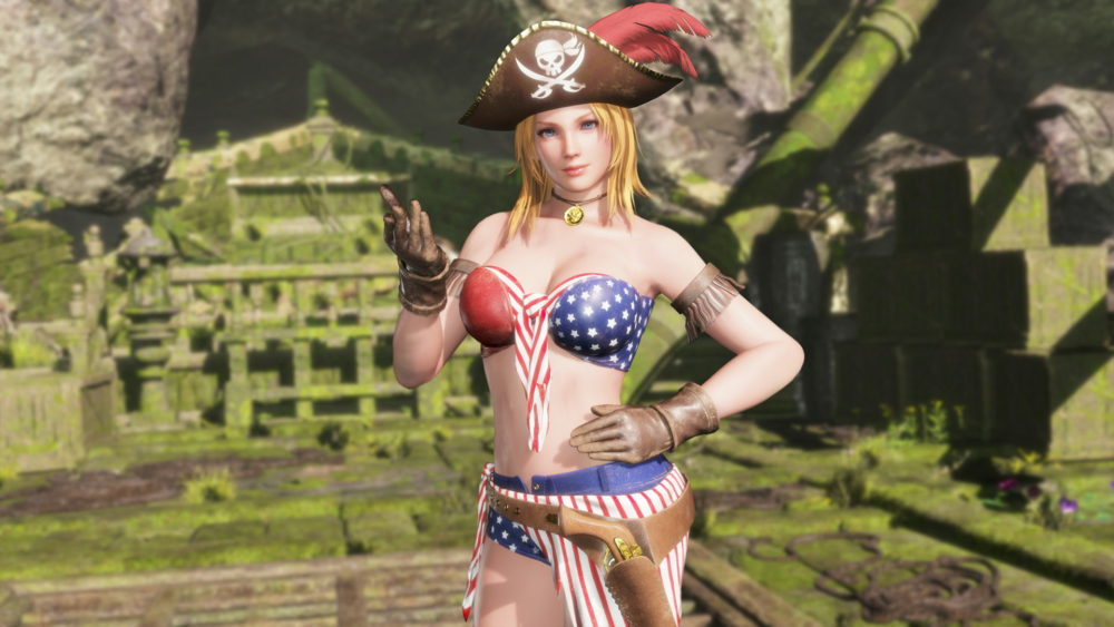 Dead or Alive 6 Pirate DLC