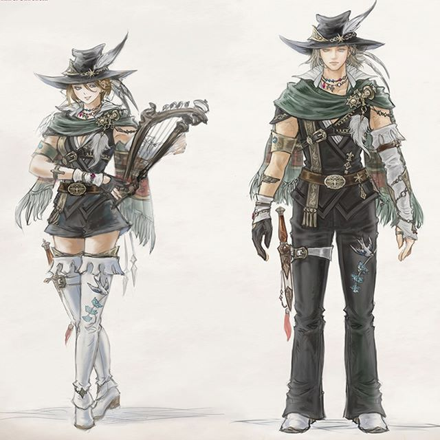 Final Fantasy XIV Shows Shadowbringers' Dancer Job in Action and