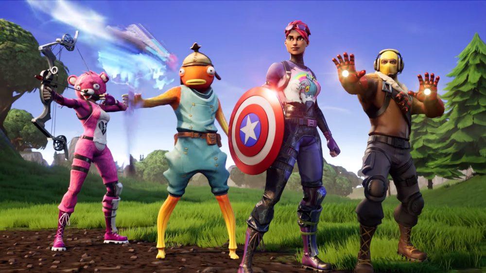 Fortnite x Avengers endgame ltm
