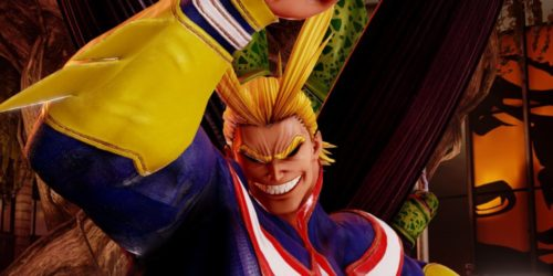 jump force, my hero academia, all might