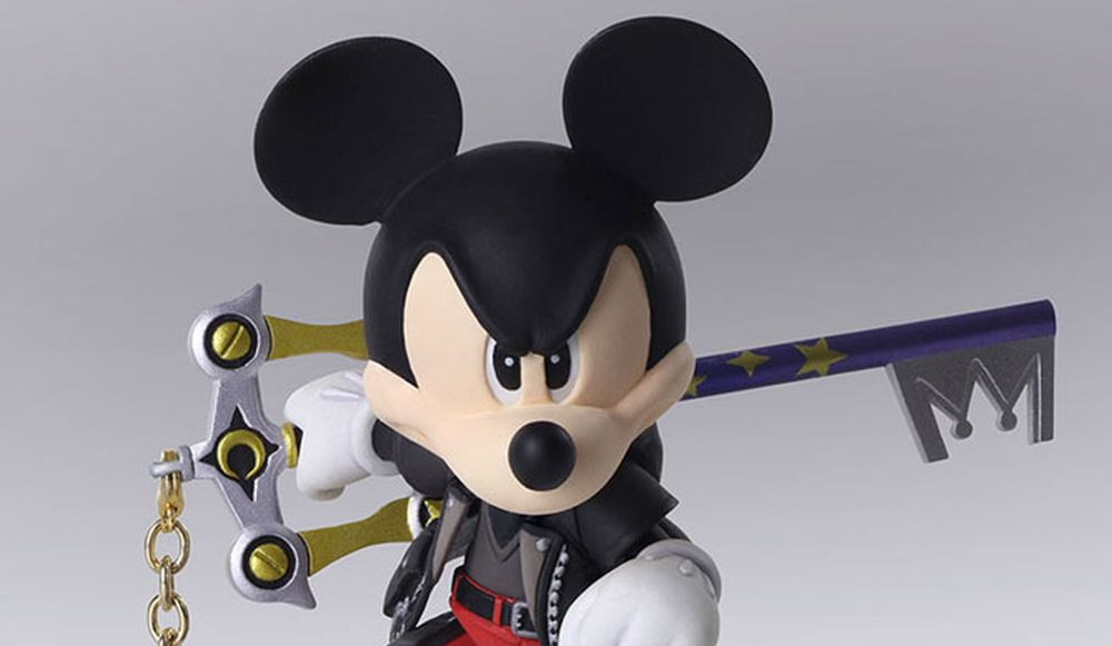 Kingdom Hearts III Bring Arts Figure
