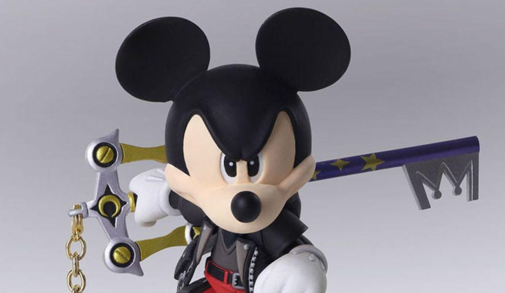 Kingdom Hearts III Bring Arts Figure