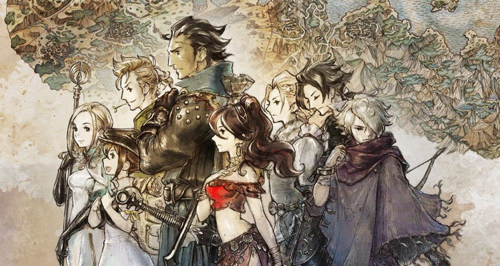 Octopath Traveler, switch games, amazon, sale, discount
