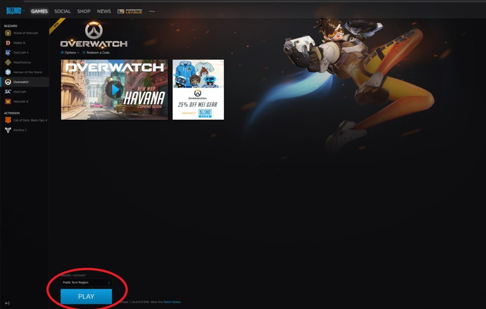 Overwatch PTR launcher how to use guide