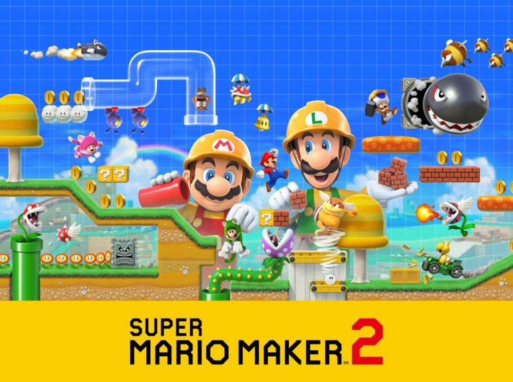 Super Mario Maker 2 gets a release date