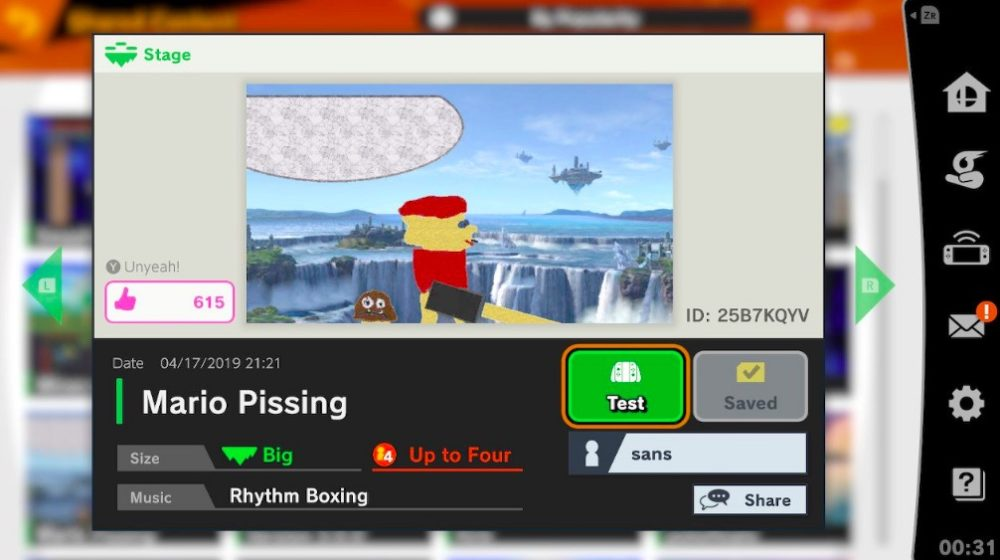 Super Smash Bros  Ultimate's Inappropriate Custom Stages Need to Be