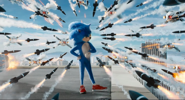 sonic the hedgehog movie, internet reacts, trailer