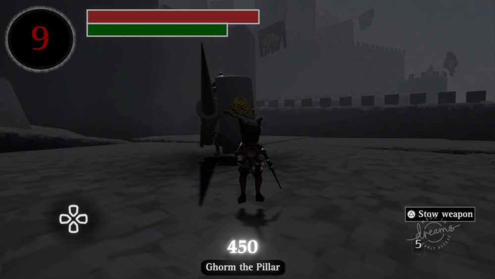 Souls-like V1.7.7 made in Dreams by