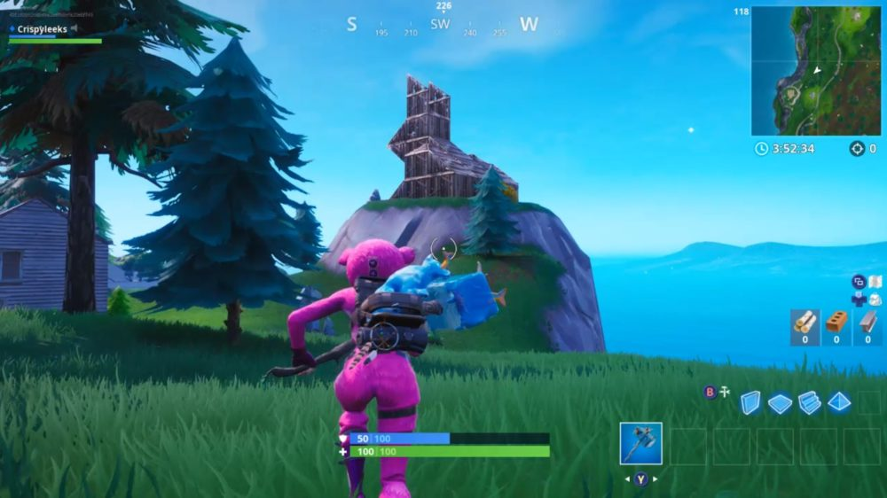 where to visit wooden rabbit in fortnite