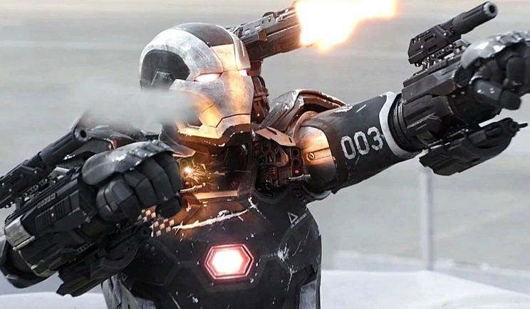War Machine in Avengers Infinity War