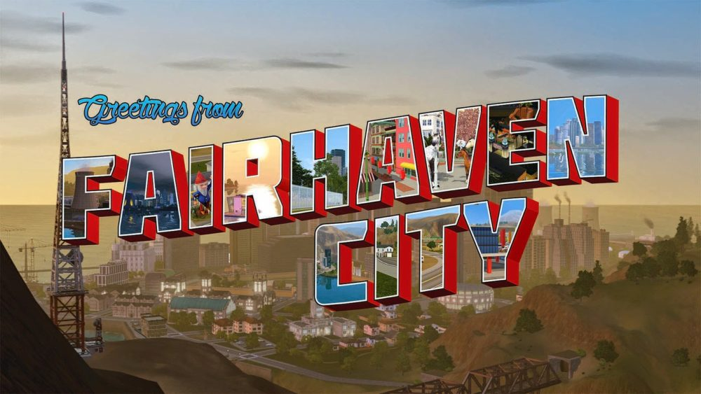 fairhaven city, the sims 3, best custom worlds