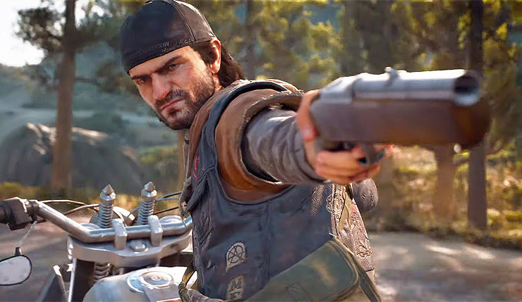 days gone, how to change weapons, swap
