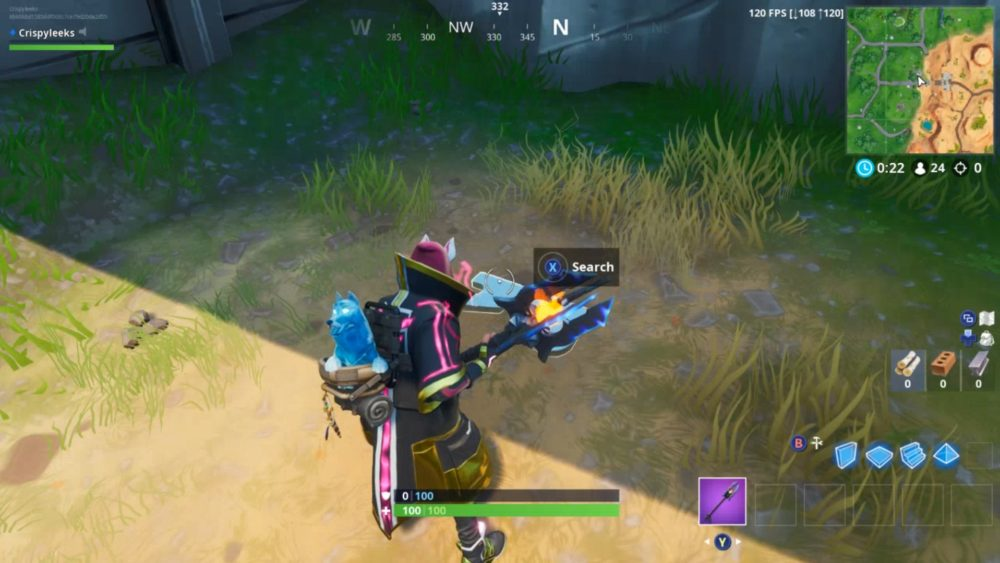 Fortnite jigsaw puzzles under bridges and in caves