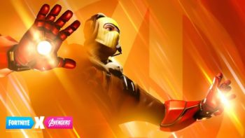 fortnite x avengers crossover event, iron man repulsors