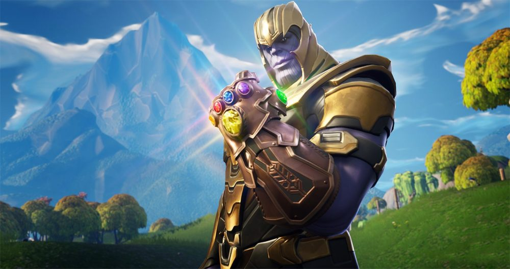 how to become thanos in Fortnite Endgame