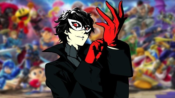 persona 5, joker, nintendo, super smash bros. ultimate, switch