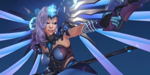 mercy OWL all star legendary skin, overwatch league