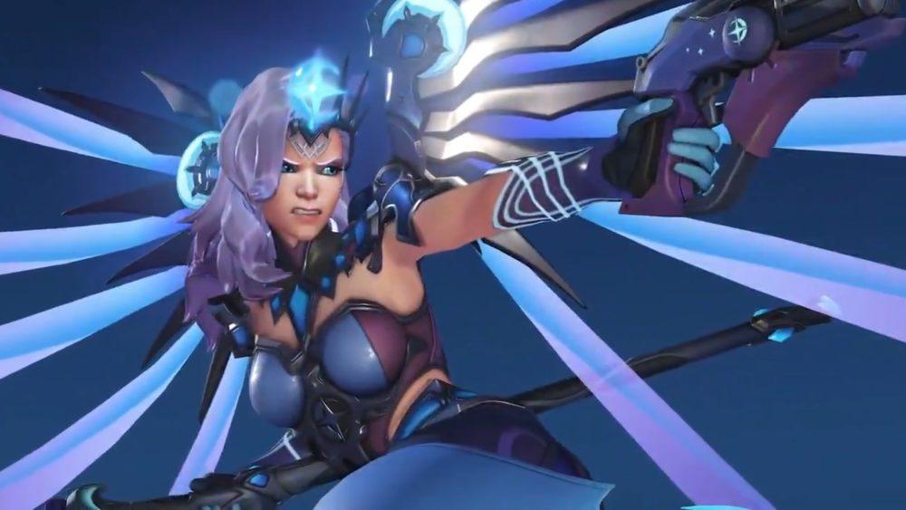 mercy OWL all star legendary skin, overwatch league