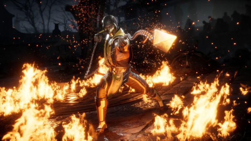 mortal kombat 11, how to get scorpion's second fatality