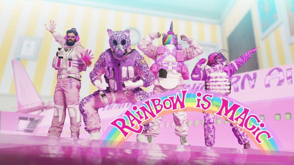 rainbow is magic packs, rainbow six siege