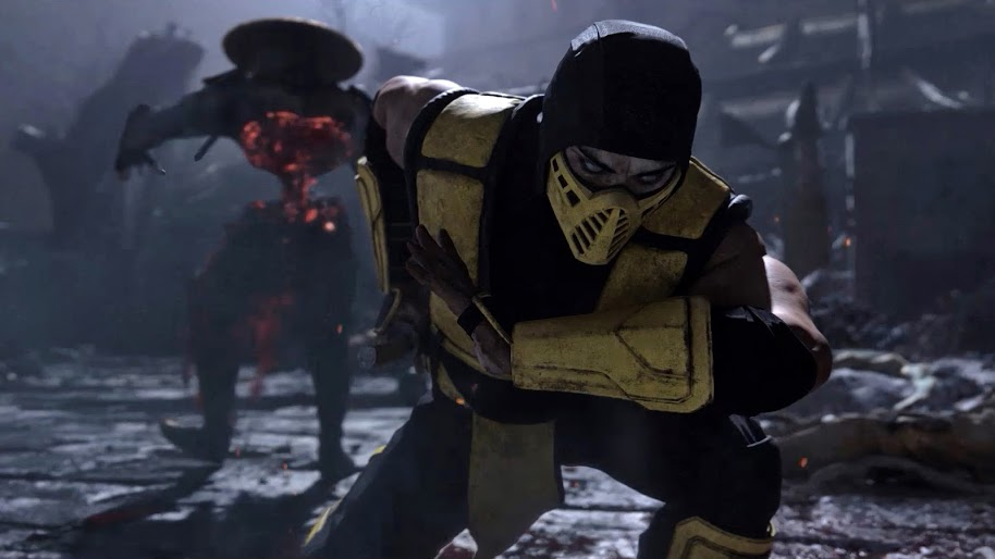 scorpion, mortal kombat 11