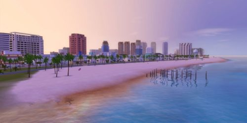 sims 3, vice city, miami, custom worlds