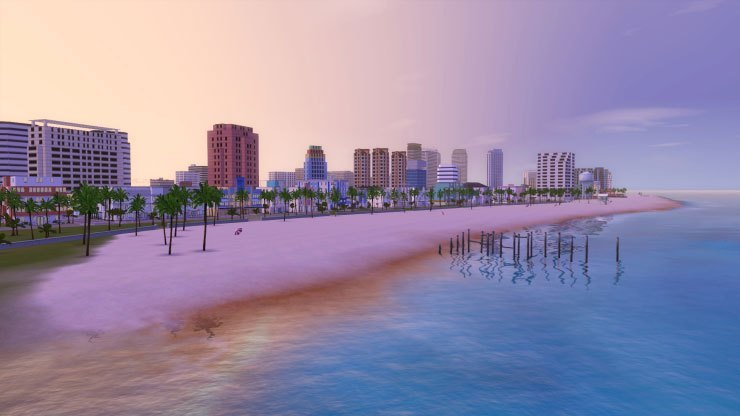sims 3, vice city, miami
