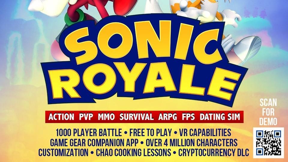 Sonic Royale, April Fools Jokes