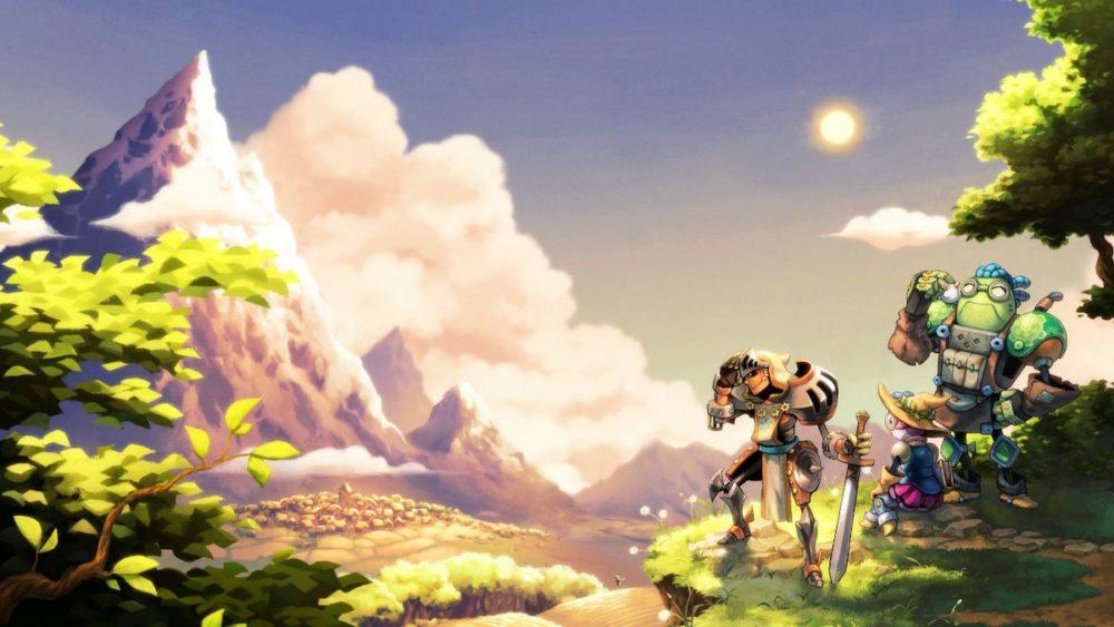 besutiful games, SteamWorld Quest: Hand of Gilgamech