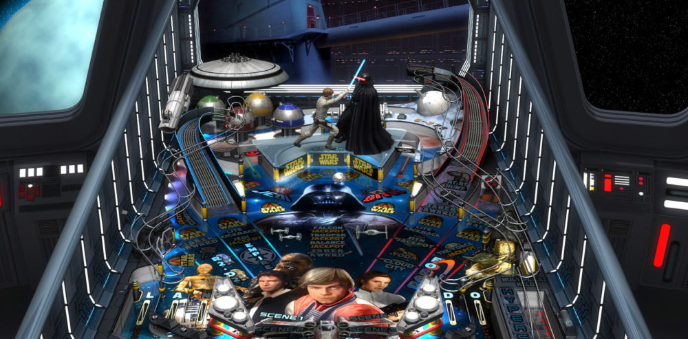Star Wars Pinball Coming to Switch Later This Year, Launching with All Tables