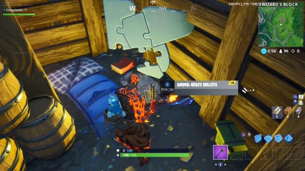 temple jigsaw puzzle piece south of sunny steps - all puzzle pieces fortnite season 8