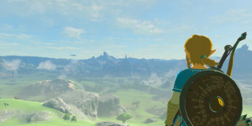 nintendo switch, labo vr, the legend of zelda: breath of the wild