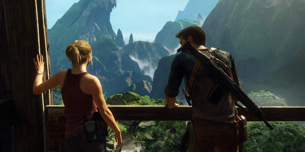 Uncharted 4: A Thief's End 10 Most Cinematic Video Games