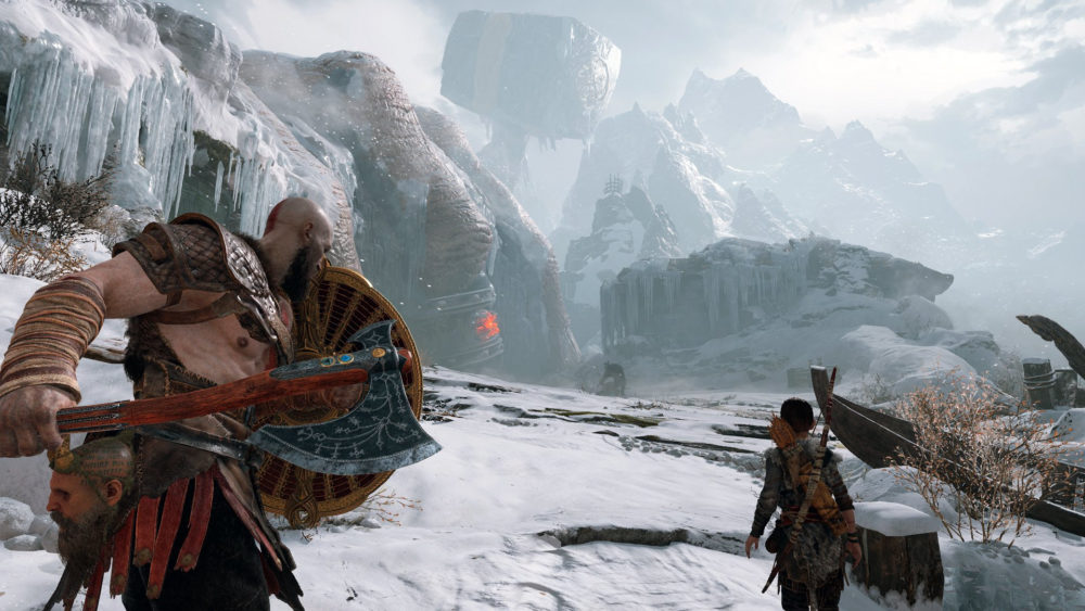 God of War 2018 10 Most Cinematic Video Games
