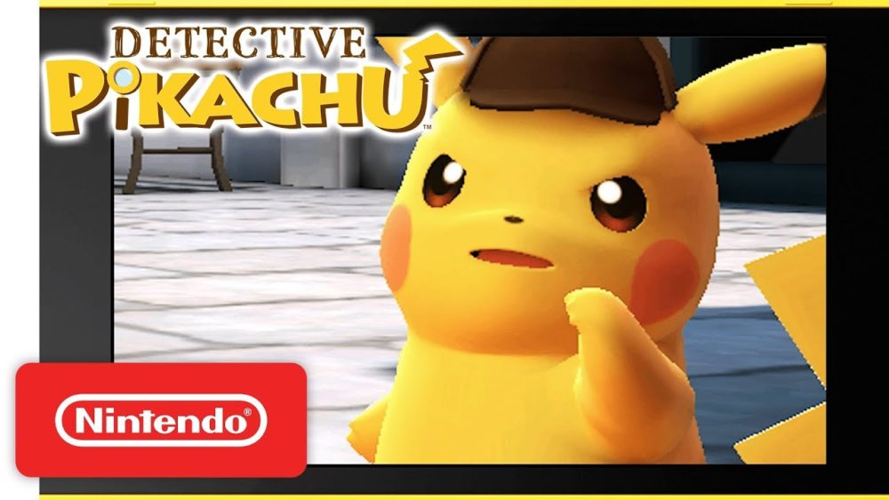 New Detective Pikachu Game Coming For Nintendo Switch With New Ending