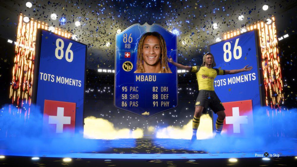 FIFA 19, mbabu sbc