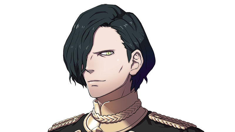 Fire Emblem: Three Houses Hubert