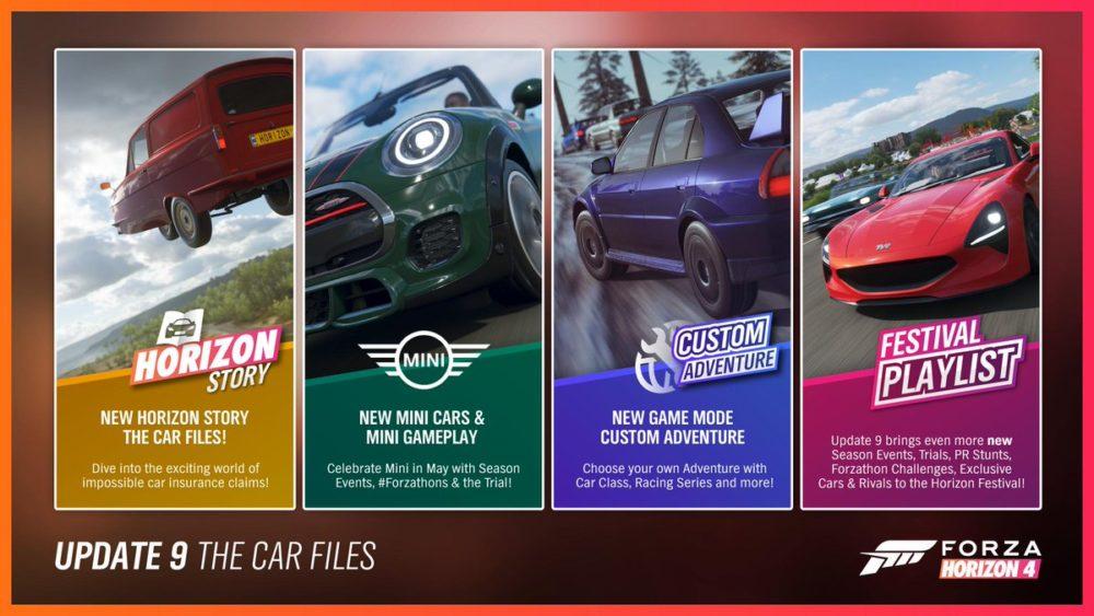 Forza Horizon 4 to Add New Supercar, Story, Mini Cars