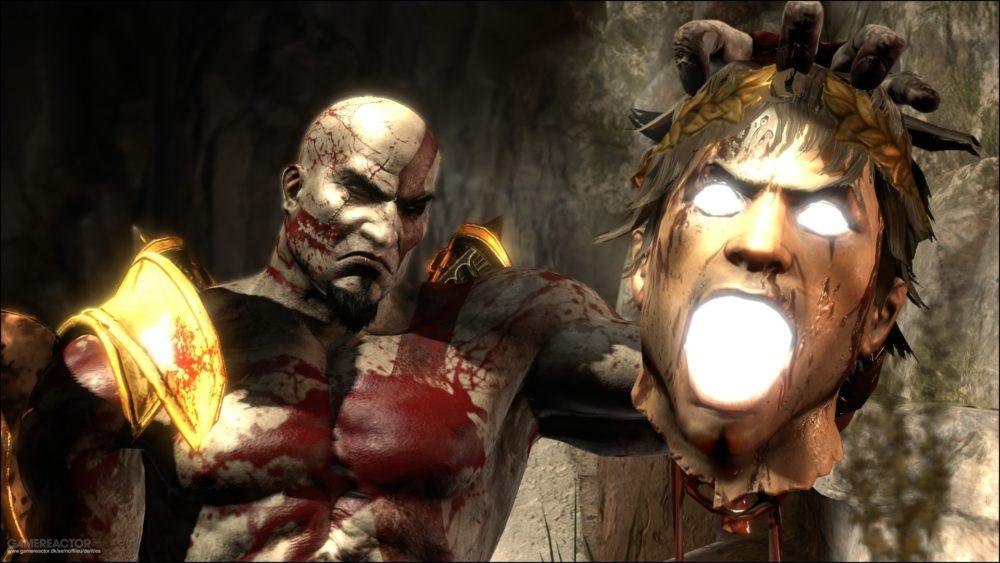 God of War III violent