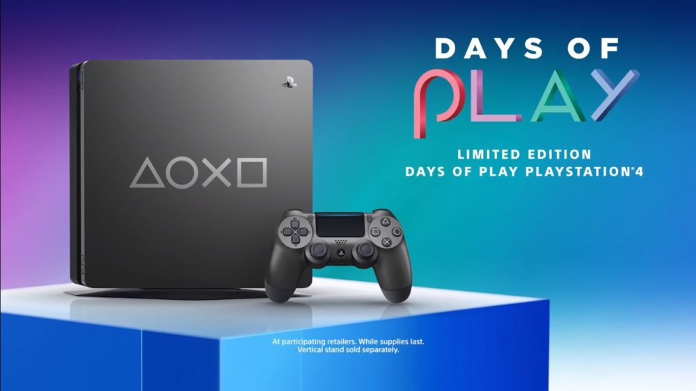 Limited Edition Days of Play PS4